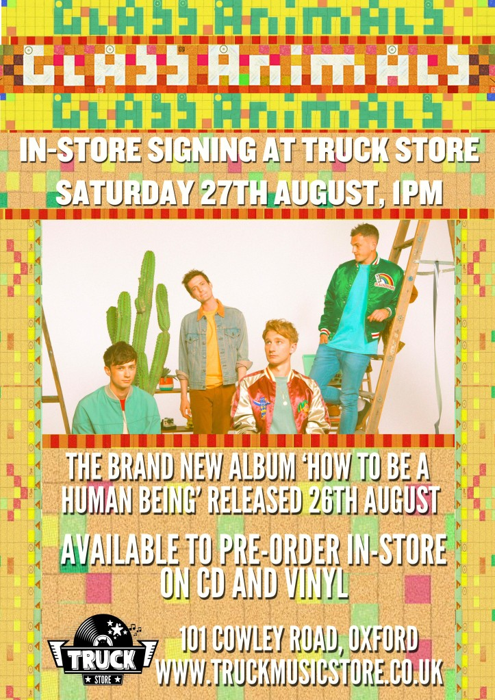 GLASS ANIMALS SIGNING