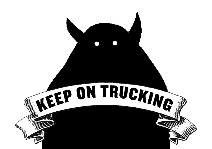 KEEP ON TRUCKING copy