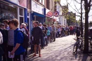 (2018-04-21) Record Store Day - 100 Mile Queue