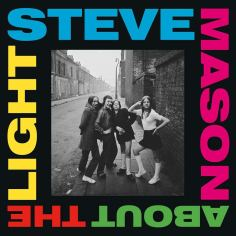 Steve Mason - About The Light. LP, Limited silver LP or CD