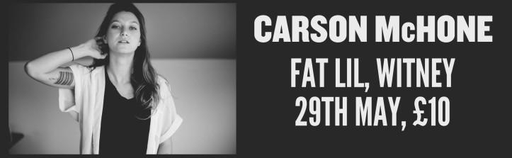 CARSON MCHONE