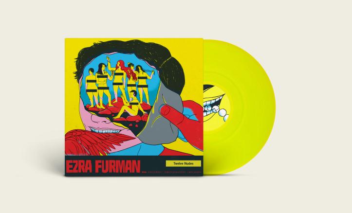 Ezra Furman_Twelve Nudes_Vinyl Mock Up_Front